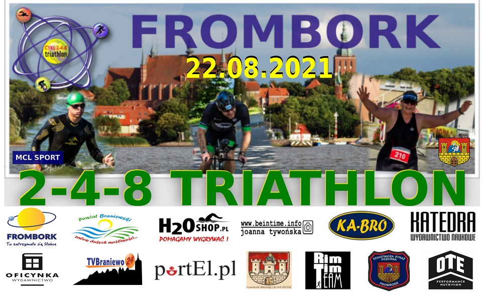 2-4-8 Triathlon Frombork