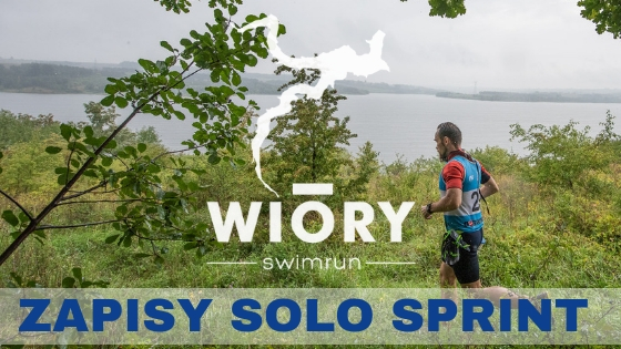 Swimrun Wióry 2019 - start SOLO